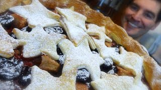 Cherry & Pear Pie: Rustic Charm Ripe For Christmas