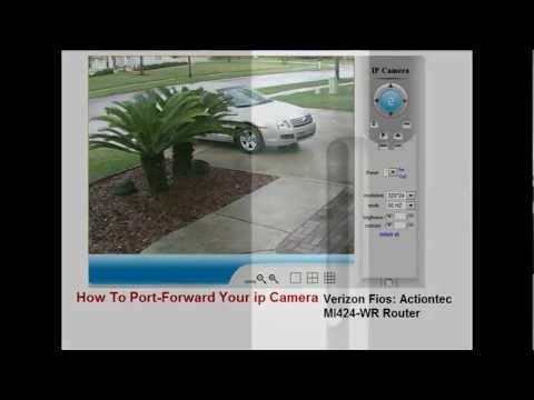 How To: Port Forward Your ip Camera Through Your Cable Router, Wireless Router