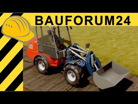 Radlader mit Hexapod Parallelkinematik - Prototyp der TU Dresden  Report VDBUM Seminar