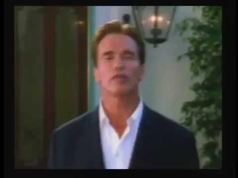 2003 Campaign Commercial for Arnold Schwarzeneggar