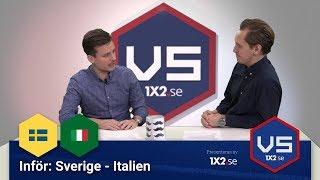 Versus: Sverige - Italien