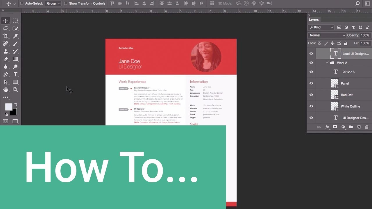 How to Make a Professional Resume in 10 Minutes - YouTube
