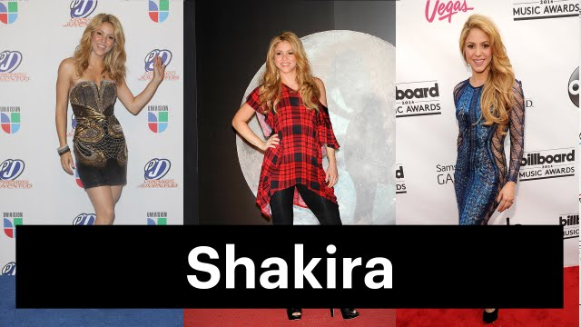 Shakira's Beauty Evolution: Colombian Pop Star to Worldwide Sensation