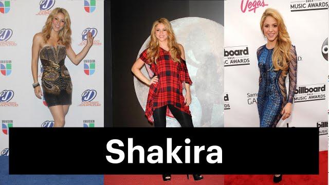 Shakira's Beauty Evolution: Colombian Pop Star to Worldwide Sensation - YouTube