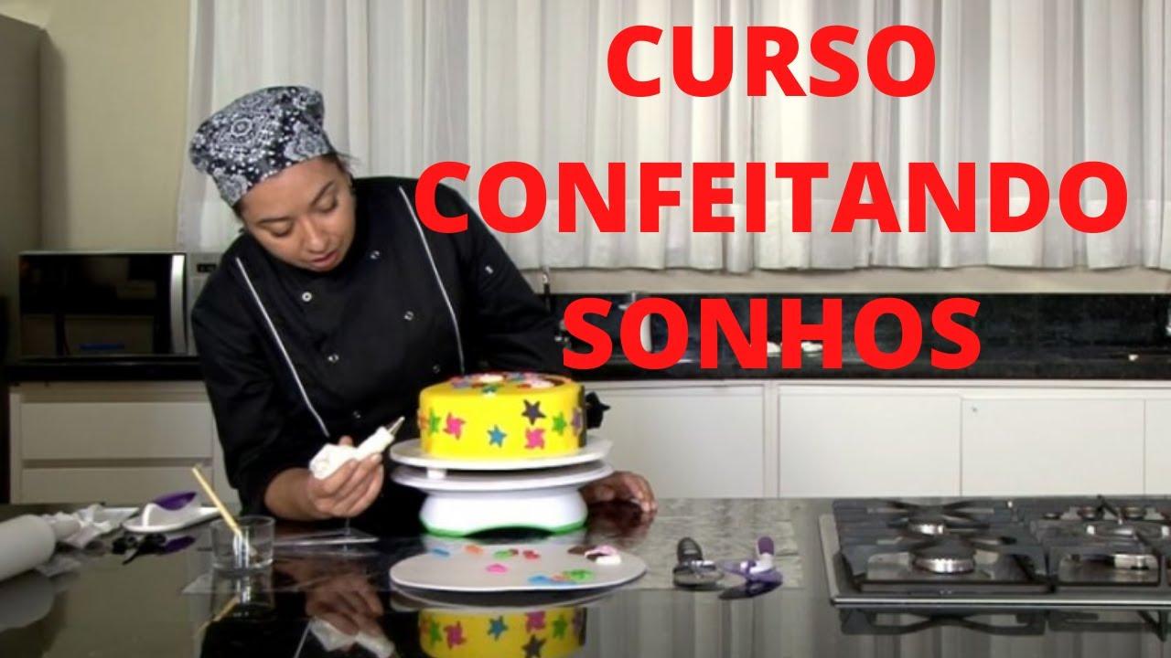 CONFEITANDO SONHOS (APRENDA ARTE DE CONFEITAR)