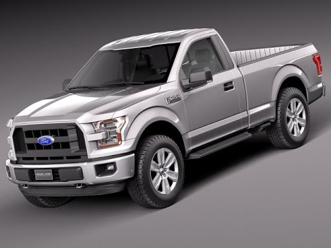 3d model ford f150 regular cab 2015 at 3dexport - youtube