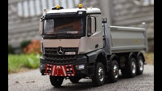 Mercedes-Benz Arocs 8x8 kipper in 1/14 scale by Maciej