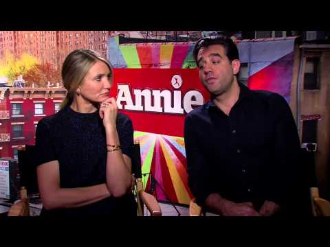 Cameron Diaz and Bobby Cannavale sing 'Annie' and share favorite karaoke song