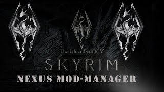 Let's Tutorial Skyrim Nexus Mod-Manager (Einfach Mods installieren) [Deutsch,HD]
