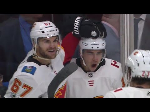 Gaudreau with some nasty moves to set up Frolik's goal
