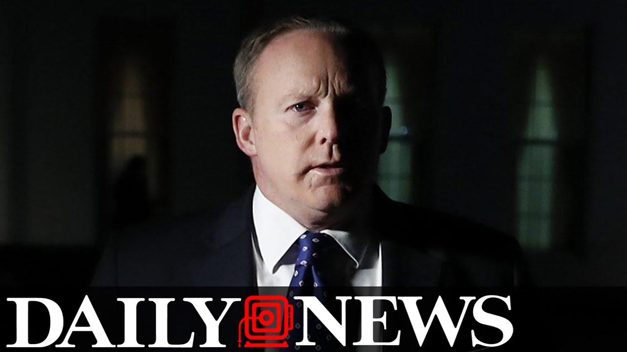 Sean Spicer Wasn't Hiding in the Bushes After Comey Firing, He Was 'Among ...