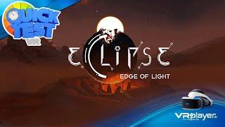 Eclipse Edge Of Light PSVR PlayStation VR Test Review VR4Player