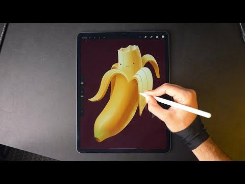 Banana 🍌 Digital Drawing
