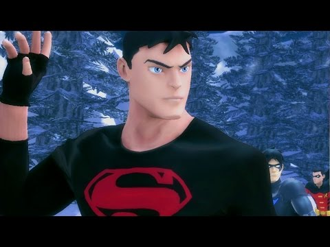 ► Young Justice: Legacy  The Movie  All  Full Walkthrough HD