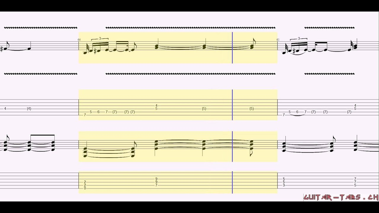 Michael Jackson Ft Slash Tabs Give In To Me Youtube