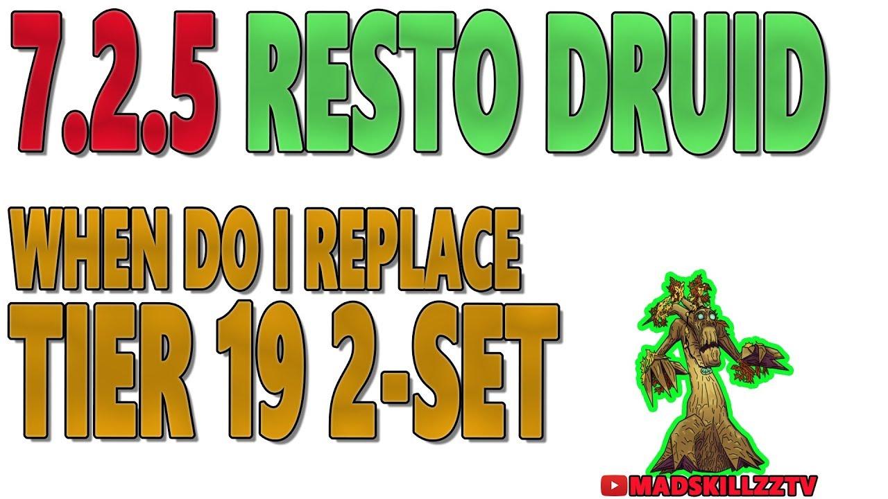 druid tier 19 set bonus resto