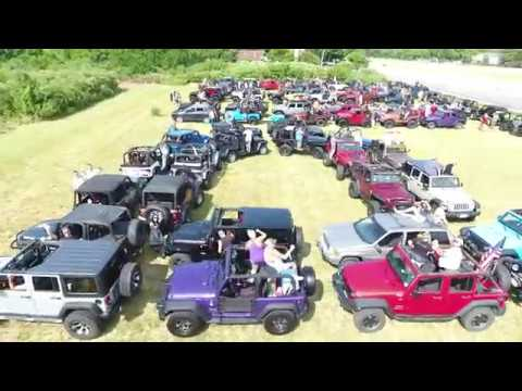 Put In Bay Jeep Invasion Drone Video Original Youtube