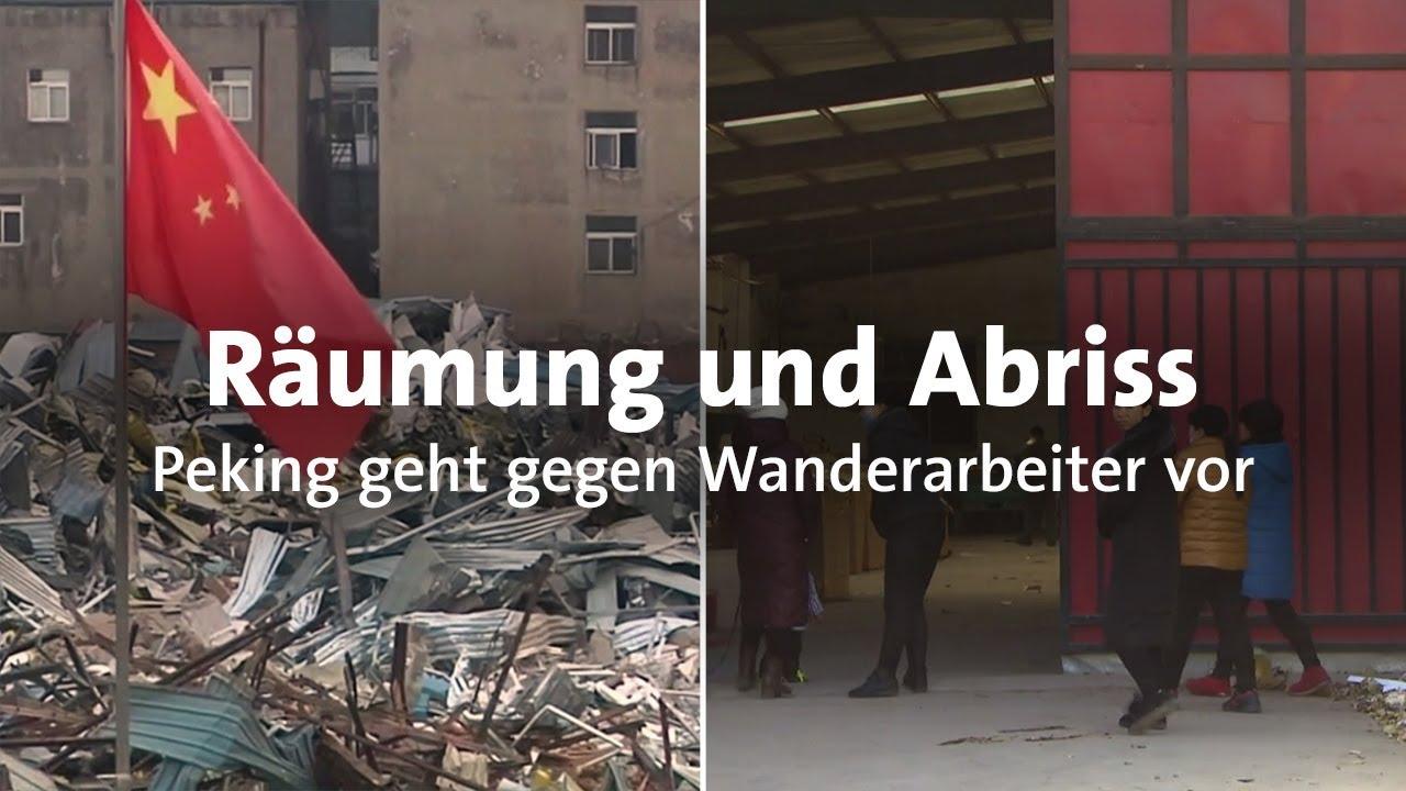 Download Peking vertreibt Zehntausende Wanderarbeiter