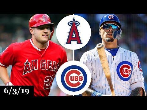 Los Angeles Angels Vs Chicago Cubs - Full Game Highlights | June 3, 2019 | 2019 MLB Season