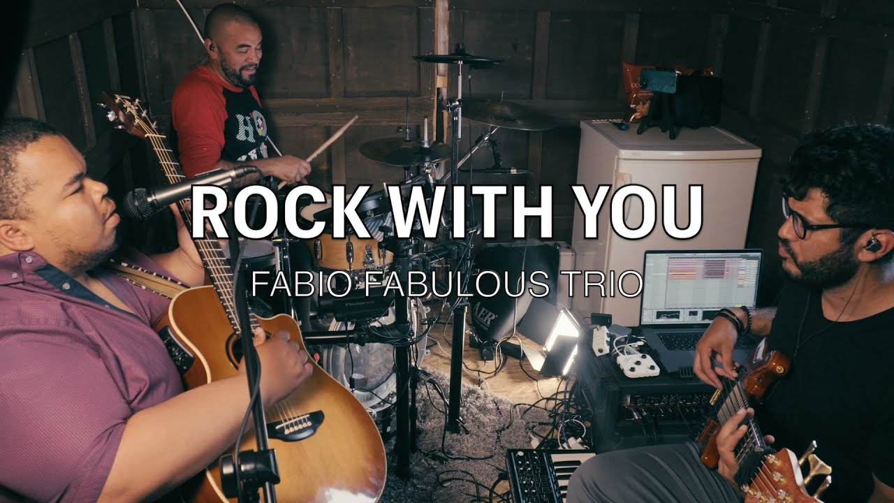 ROCK WITH YOU by MICHAEL JACKSON   Fabio Rodrigues Trio cover
