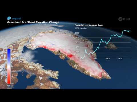 Greenland ice loss