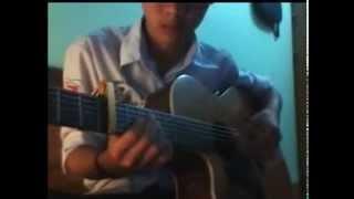 Blue - Huang Chia Wei ( guitar cover Nguyen Thang )
