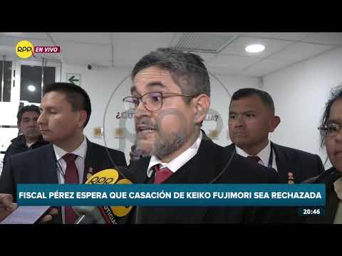 """Fiscal Domingo Pérez: """"Preocupa que denuncia contra Chávarry haya sido rechazada"""""""