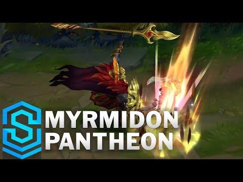 Myrmidon Pantheon 2019 Skin Spotlight - League of Legends