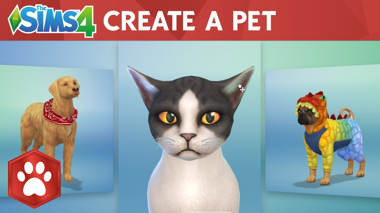 The Sims 4 Cats Dogs Create A Pet Official Gameplay Trailer Youtube