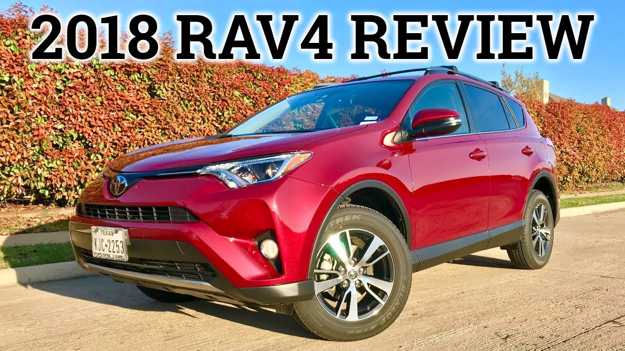 2018 Toyota Rav4 Xle Review And Test Drive