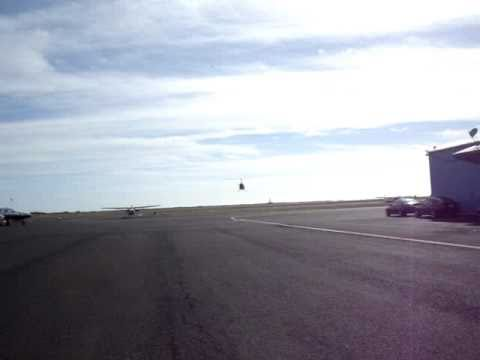 R22 Intro Flight at George