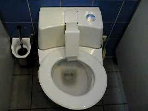 Self cleaning German robot toilet   YouTube. Japanese Self Cleaning Toilet. Home Design Ideas