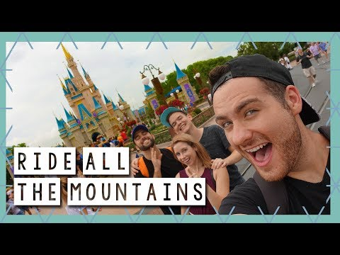 Ride ALL the Mountains and Lunch at Tony's Town Square | Walt Disney World Vlog June 2017