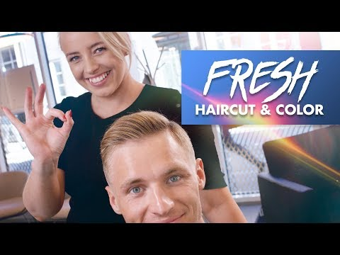 Spring/Summer Hairstyle | Cut & Color | Men Hair 2019