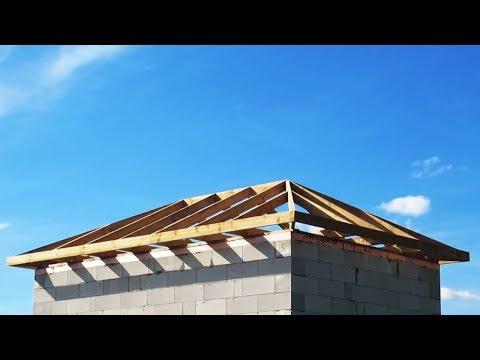 Устройство вальмовой крыши своими руками видео