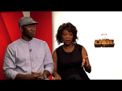 Mahershala Ali and Alfre Woodard talk LUKE CAGE