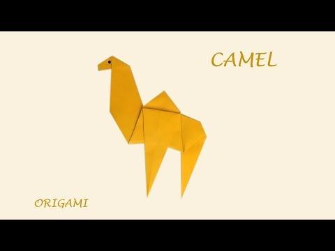 Camel   Fun DIY easy origami - origami animal
