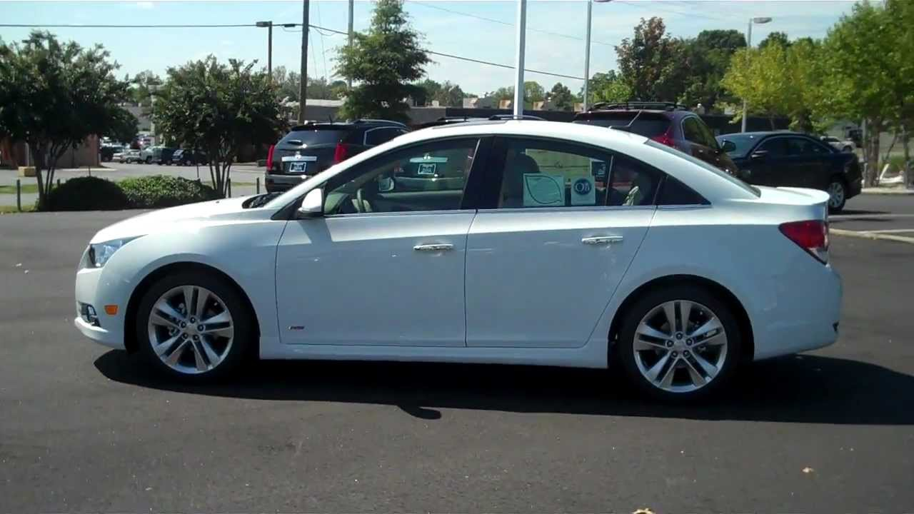 2013 Chevrolet Cruze Ltz Summit White Burns Chevrolet