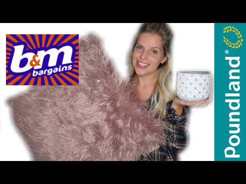 POUNDLAND & B&M HAUL | WHATS NEW IN SEPTEMBER 2019 | HOMEWARE, CLEANING PRODUCTS AND MORE