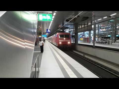 IC vertrekt van Berlijn HBF naar München
