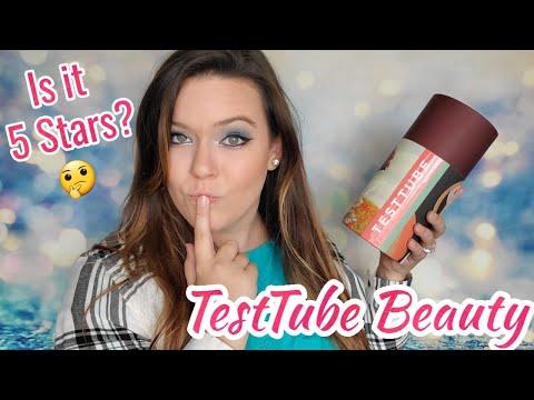 Test Tube Beauty Unboxing   November/December 2019