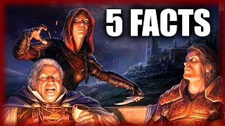 Skyrim - 5 Dark Brotherhood Facts - Elder Scrolls Lore