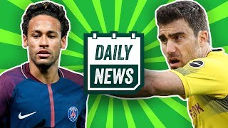 Neymar zu Real Madrid? BVB: Sokratis, Guerreiro, Rode weg? Stuttgarts Rekordtalent! Daily News