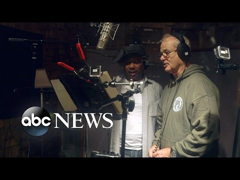 Bill Murray Sings as Baloo in 'The Jungle Book' Recording Studio