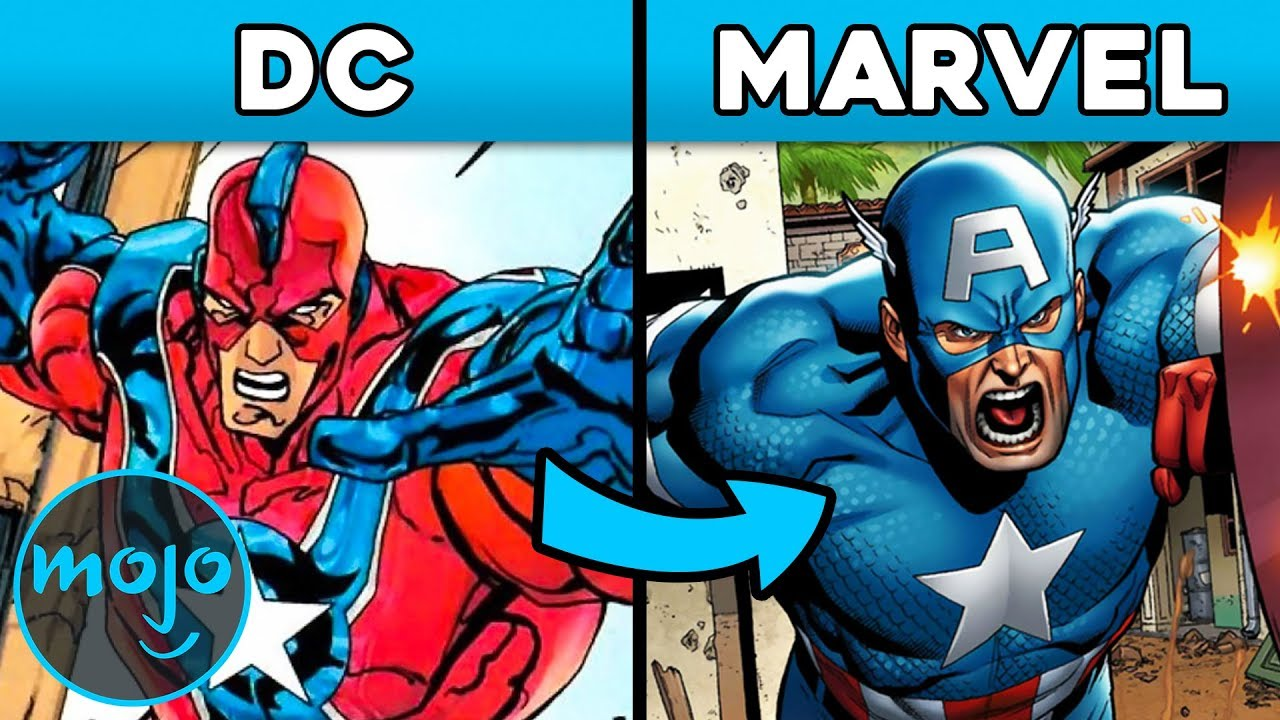 Top 10 Characters Dc Stole From Marvel