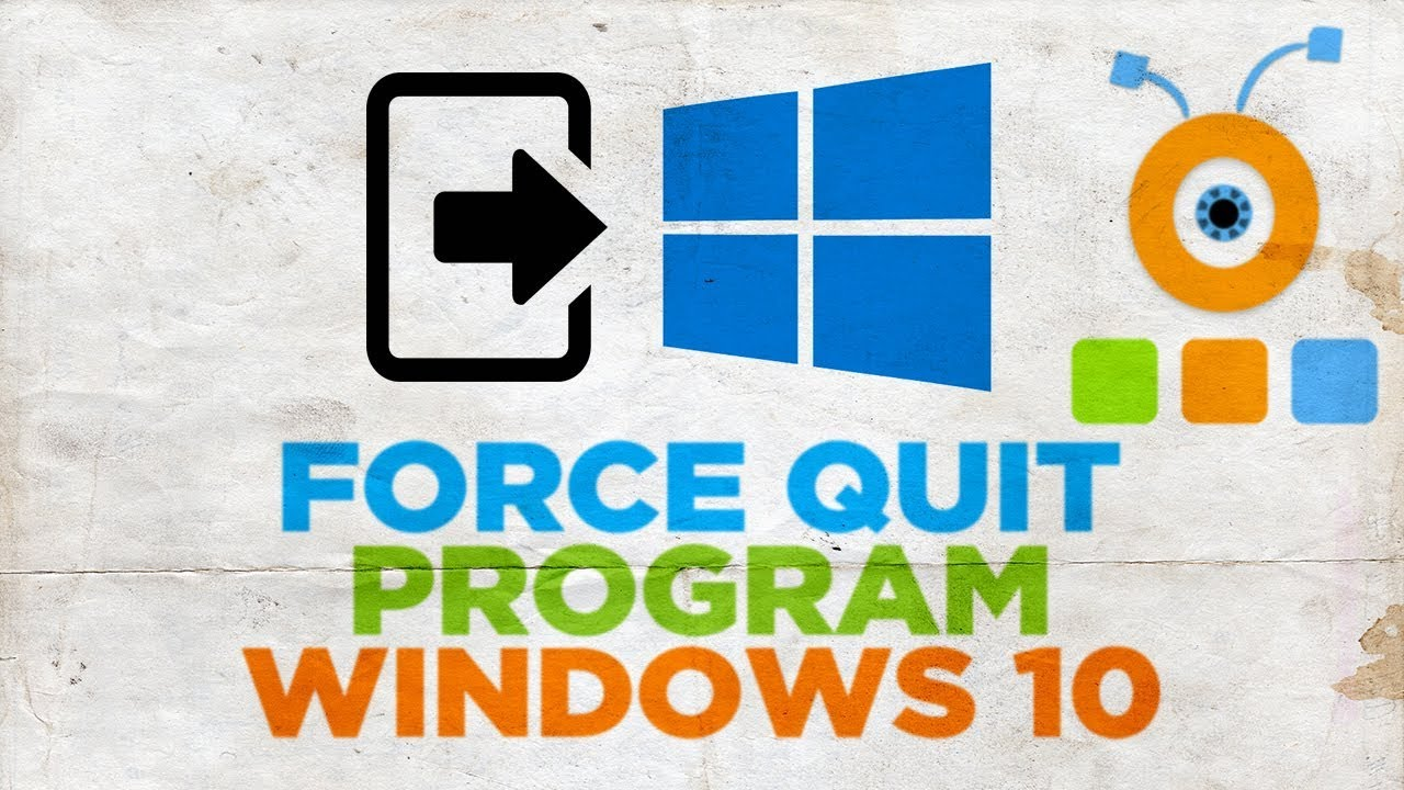 how to force run programs in windows 10