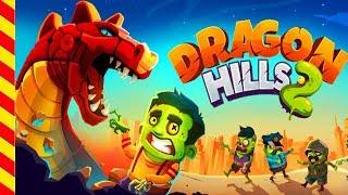 Мультик про дракона для детей. Дракончик вырвался из подземелья. Смотрите мультик про динозавр,