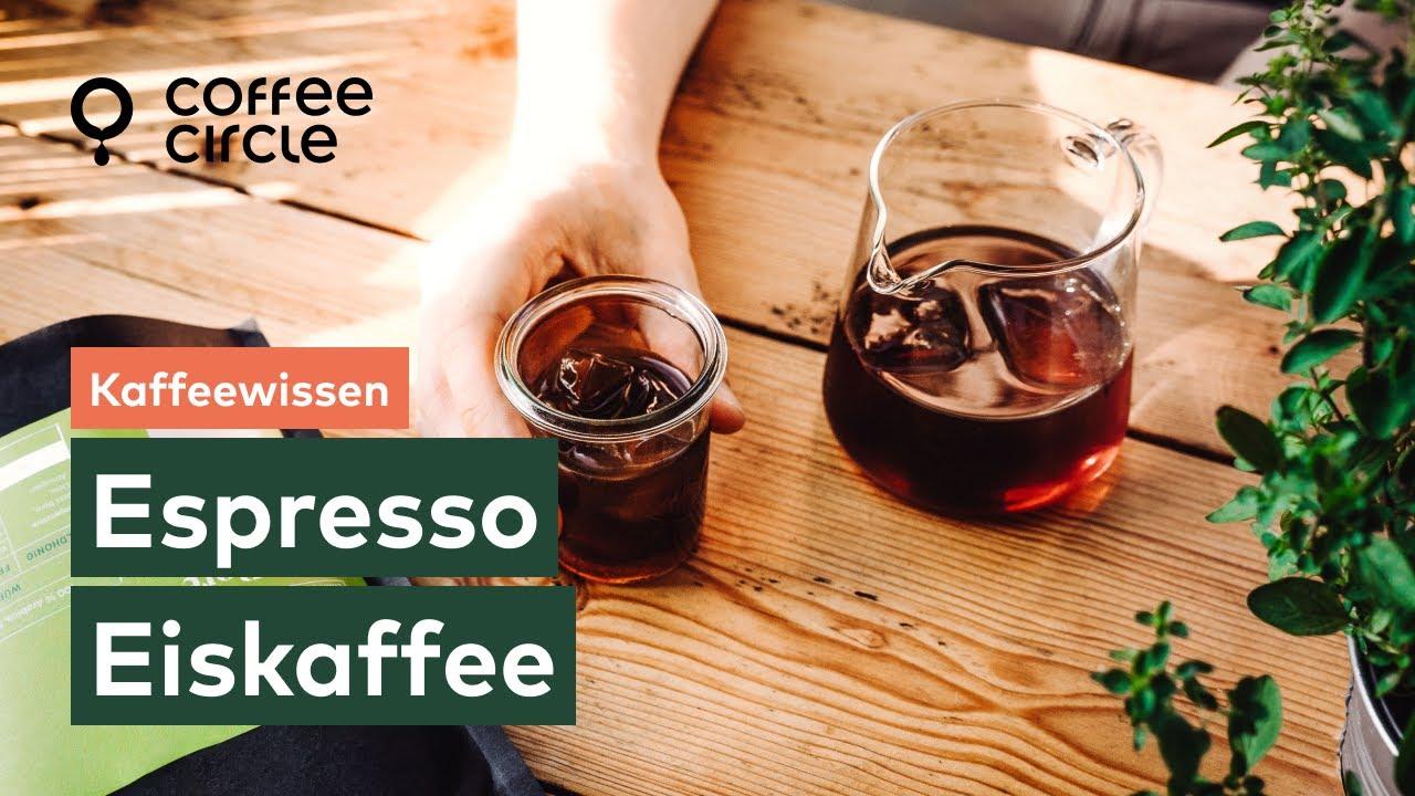 espresso eiswürfel