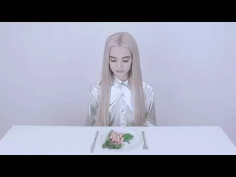 Poppy eats a meal