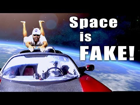 Space is Fake! - Flat Earth Man Exposes Space Fraud! thumbnail